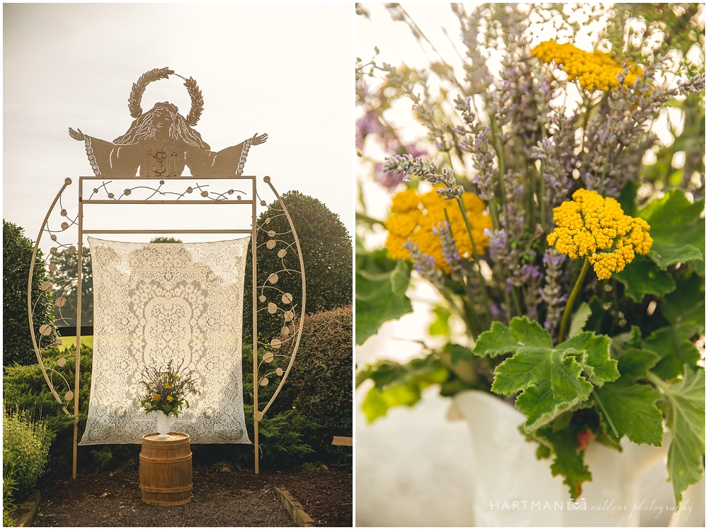 Little Herb House and Gardens Wedding