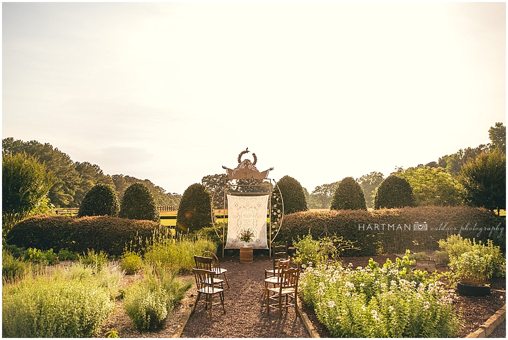 Raleigh Outdoor Garden Wedding