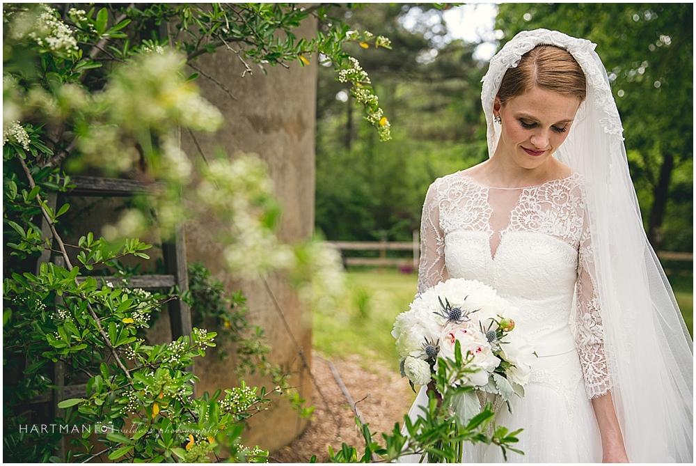 Bridal Portrait Magnolia Manor