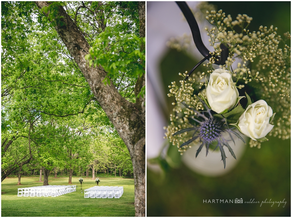 Magnolia Manor Outdoor Wedding