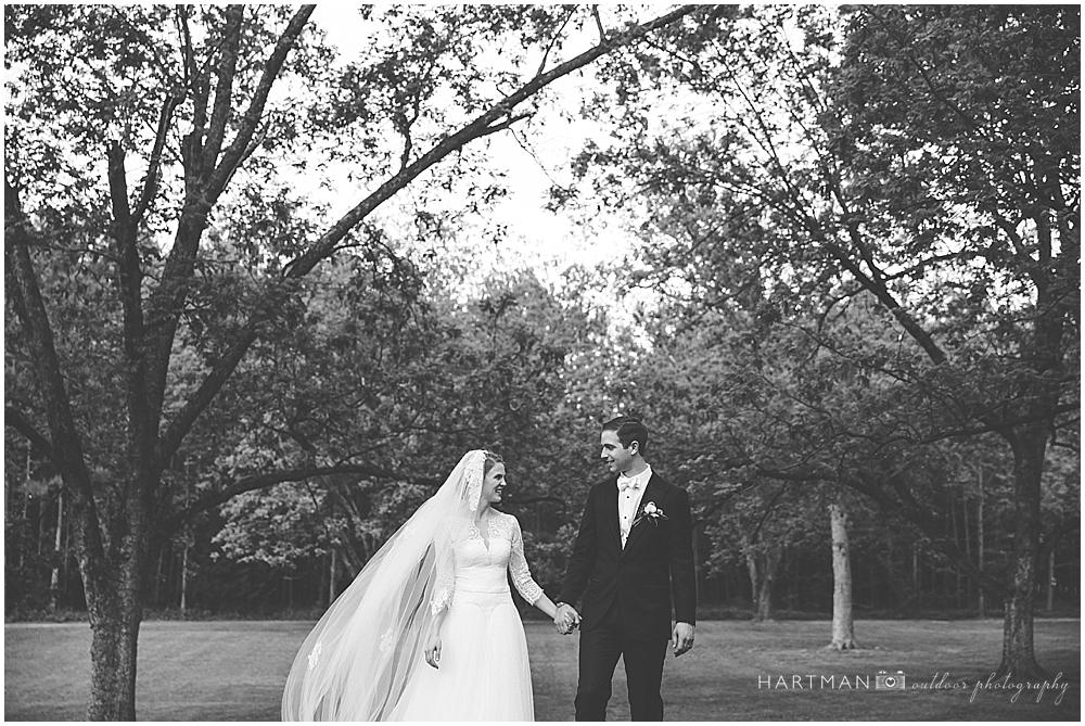 Bride and Groom Portraits Magnolia Manor Plantation