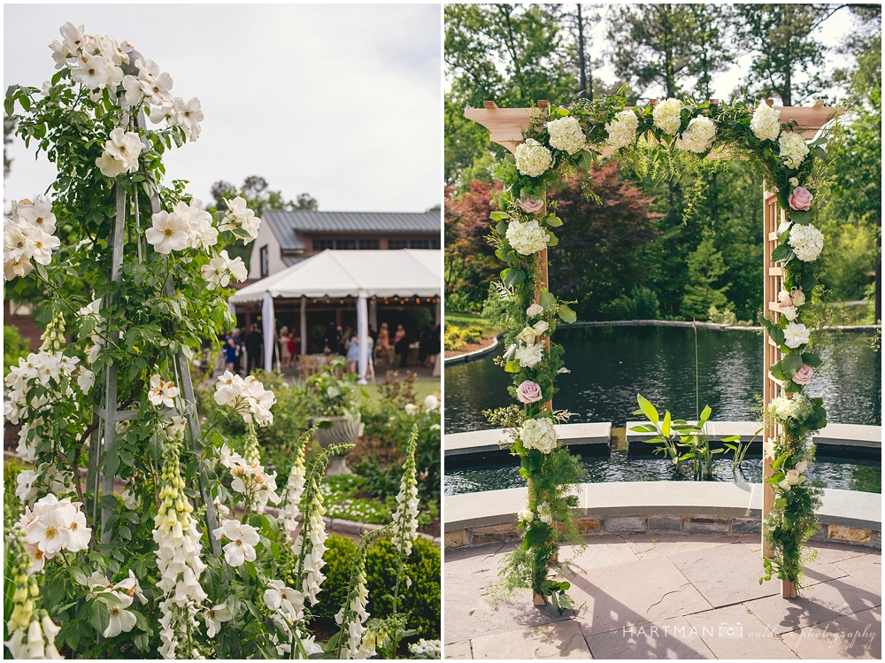 Angle Amphitheater Wedding Ceremony