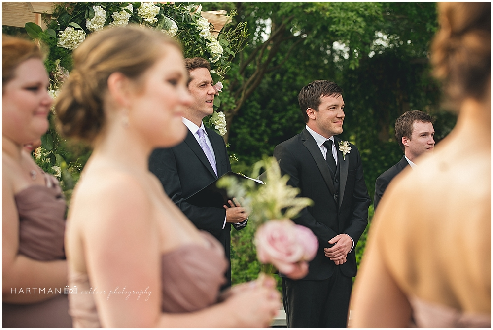 Durham Duke Garden Wedding