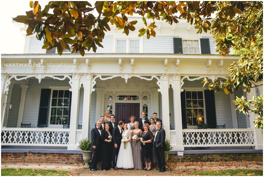 magnolia Manor Plantation family portraits