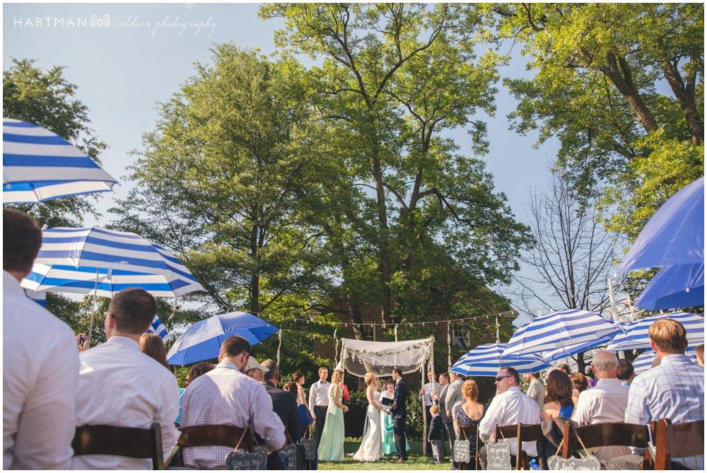 Jewish Ceremony Chuppah Merrimon Wynne House