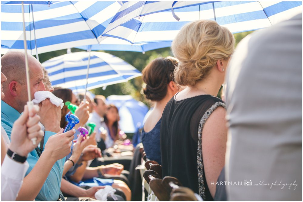 Merrimon Wynne House Outdoor Summer Ceremony