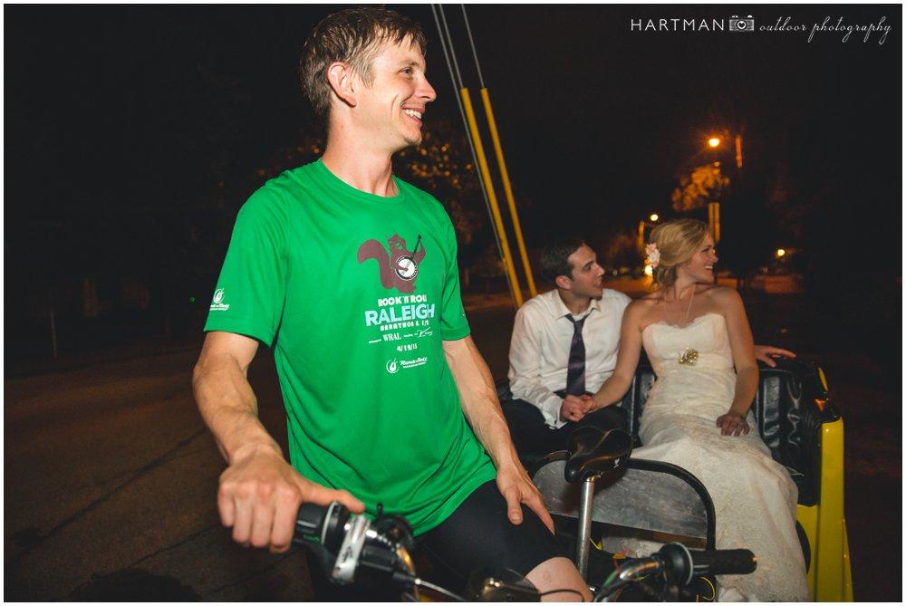 Raleigh Rickshaw Wedding Getaway