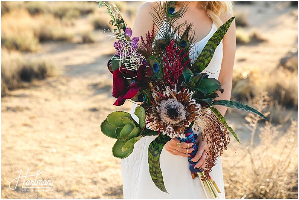 Bride Desert Wedding Bouquet