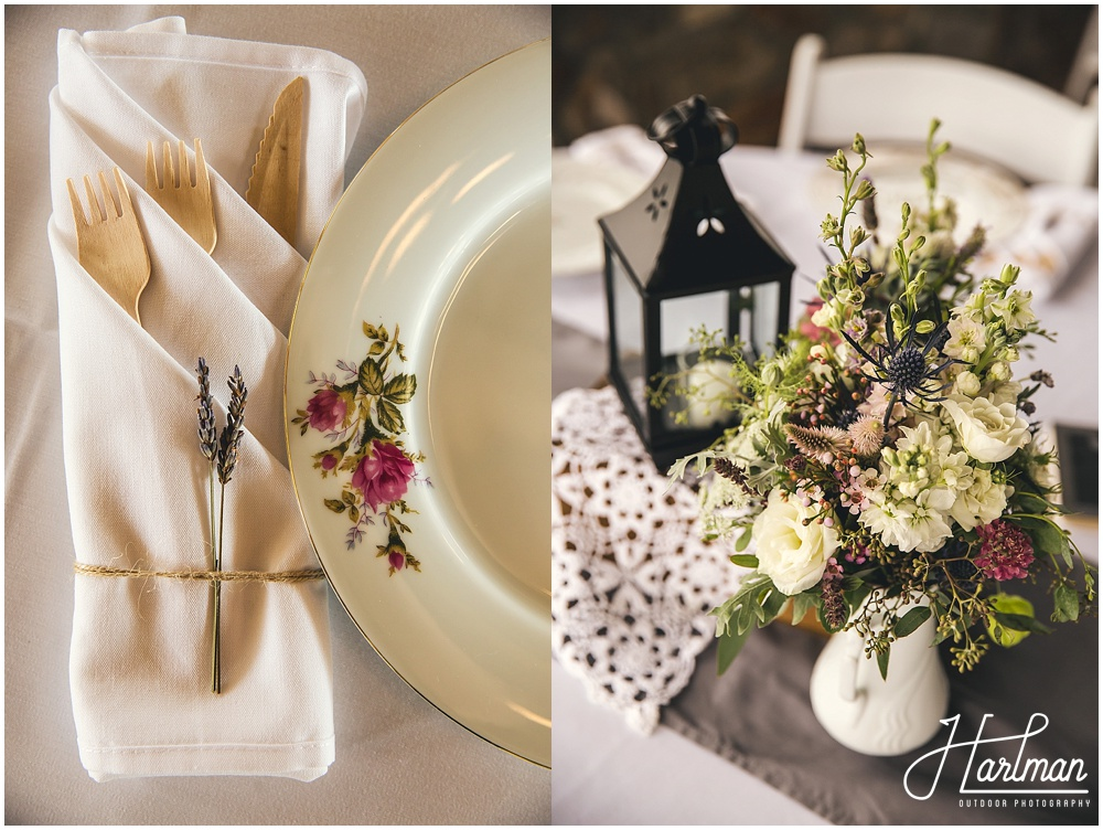 Vintage Bohemian Wedding Reception Ideas