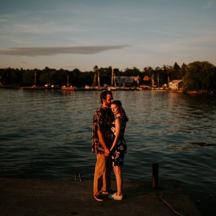 Melissa + Andrew | Door County, Wisconsin