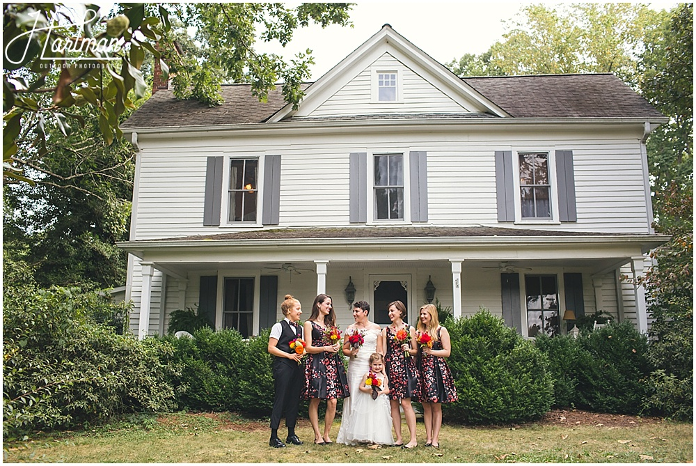 Chapel Hill barn farm wedding venue