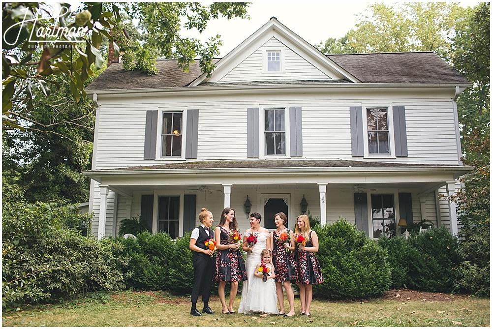 Chapel Hill barn farm wedding venue