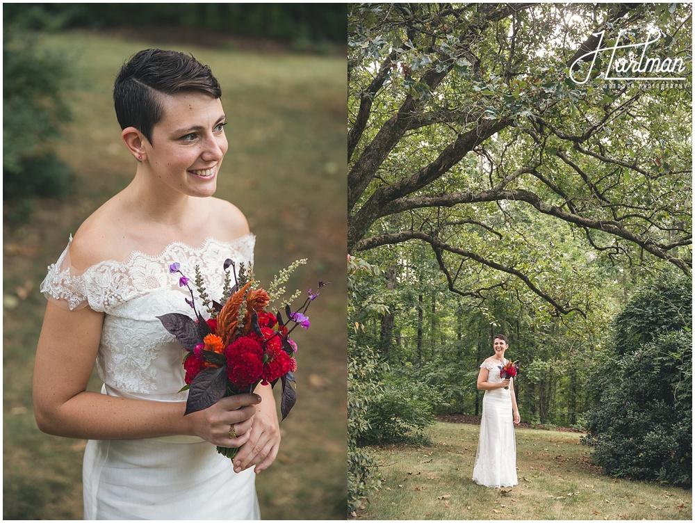 Rock Quarry Farm Bridal Portraits