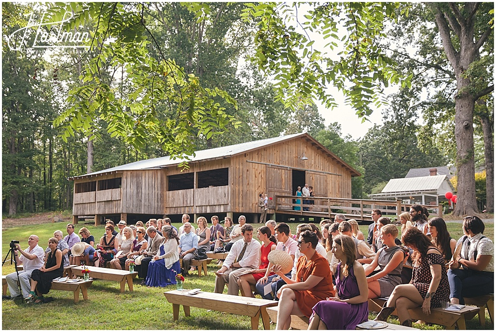 Rock Quarry Farm Outdoor Ceremony
