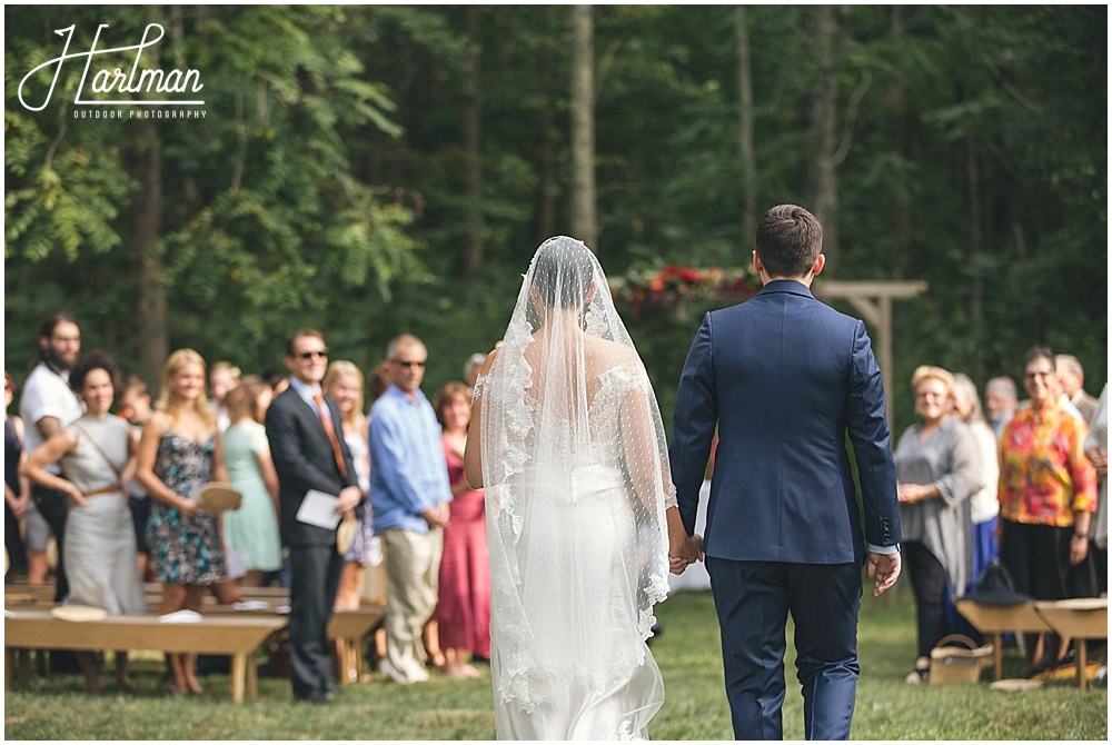 Rock Quarry Farm Wedding Ceremony