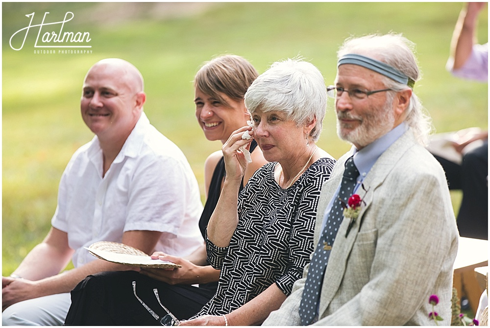 Chapel Hill Outdoor Wedding Ceremony