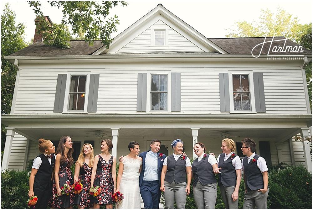 Raleigh North Carolina Same Sex Gay Wedding