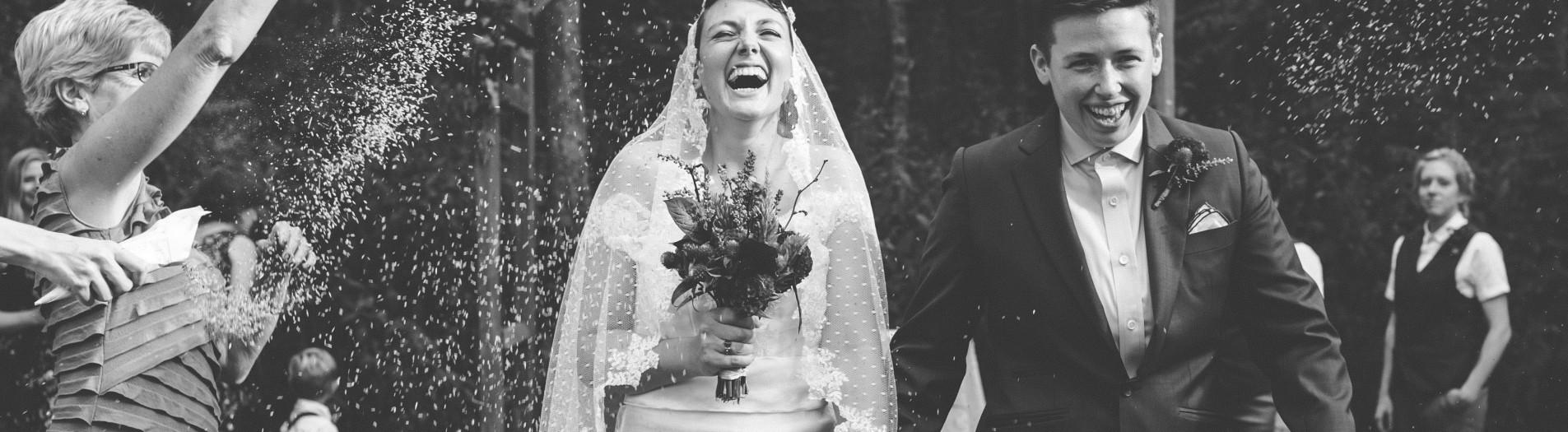 Victoria + Jessie | Vibrant Rock Quarry Farm Wedding