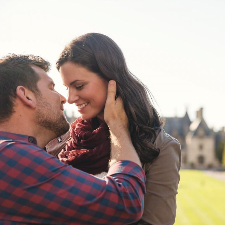 Jocelyn + Josh | Biltmore Estate Asheville Engagement