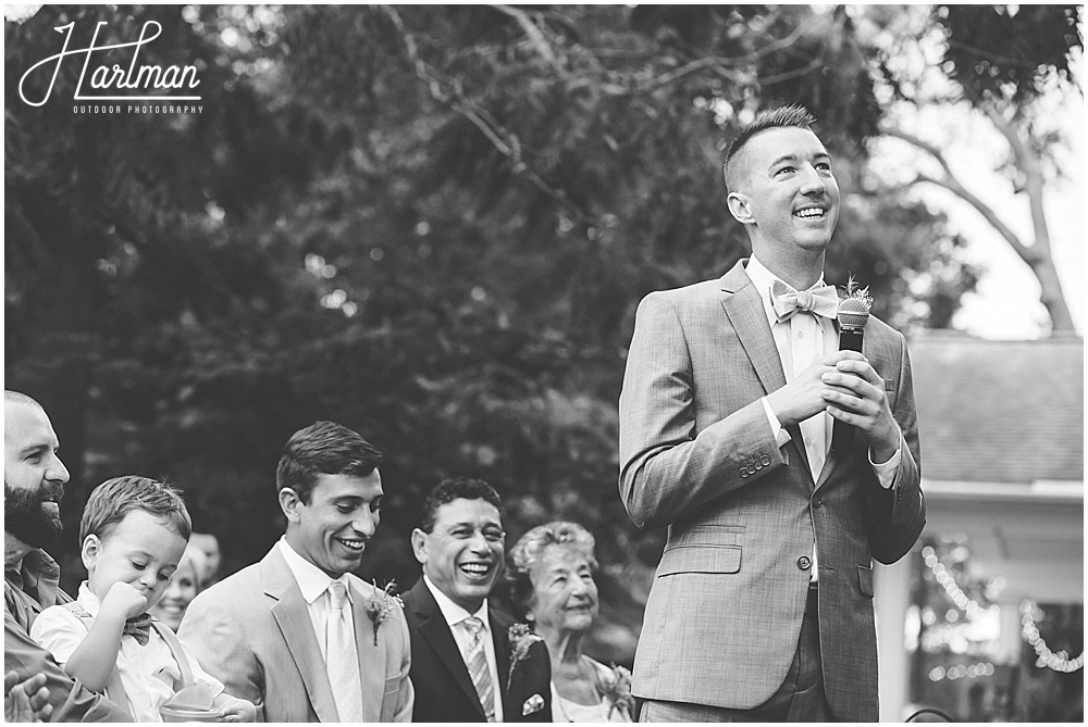 North Carolina Quaker Wedding Ceremony