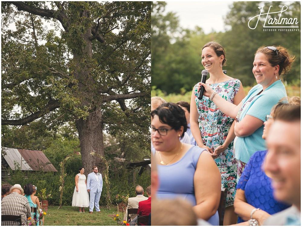 Raleigh Quaker Ceremony