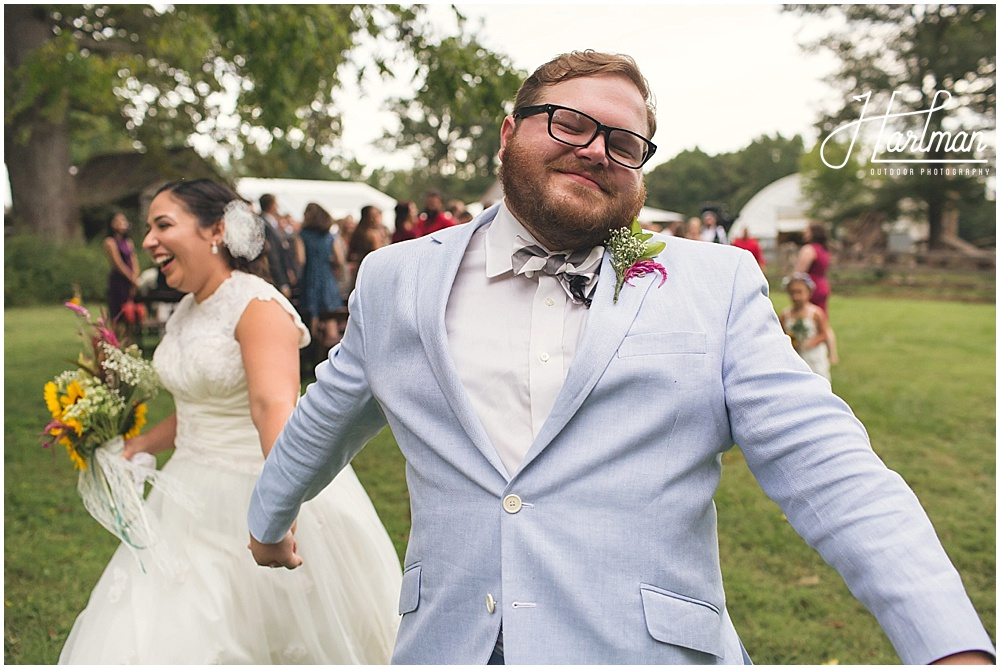 Outdoor Ceremony Celebrity Dairy Wedding