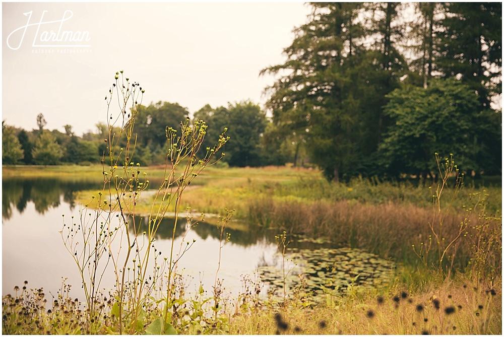 Morton Arboretum Fall Wedding