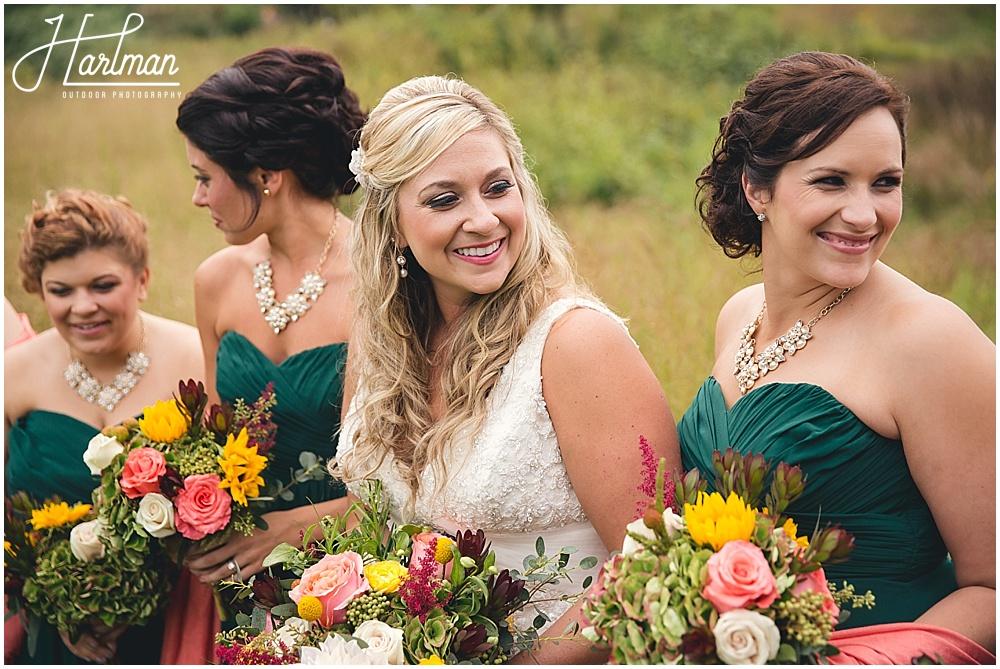 Morton Arboretum Autumn Wedding