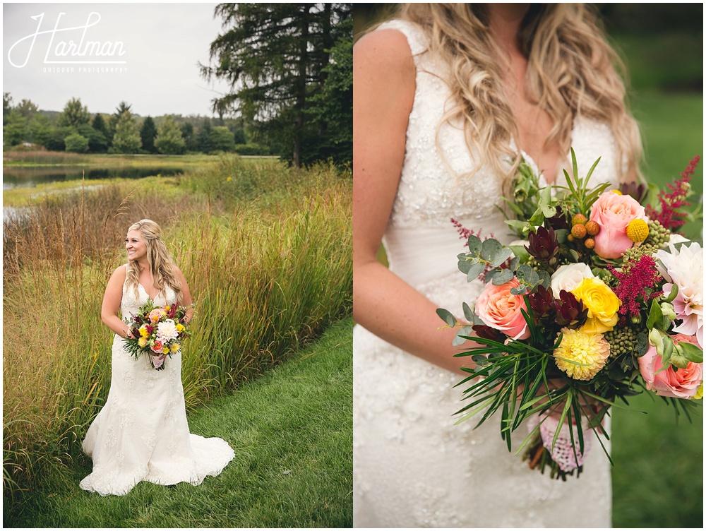 Morton Arboretum bride photos