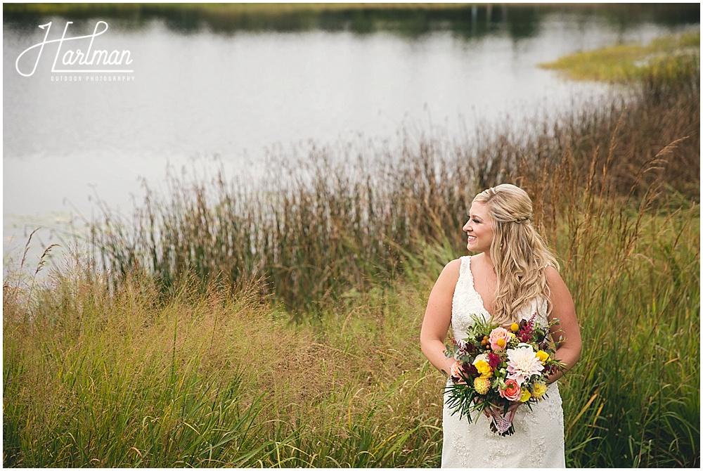 Morton Arboretum outdoor wedding