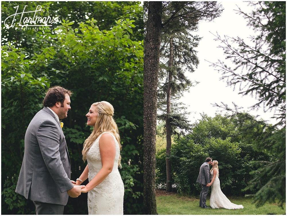 Morton Arboretum Wedding bride and groom portraits
