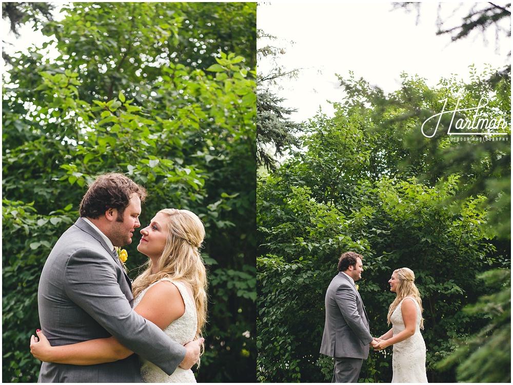 Morton Arboretum Wedding bride groom pictures