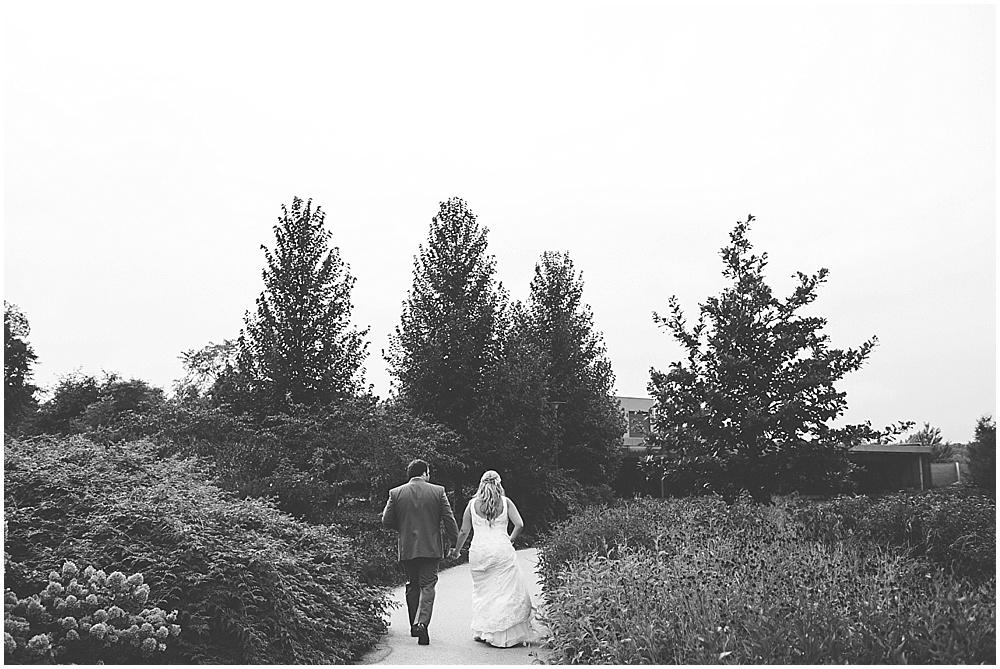 Morton Arboretum Outdoor Fall Wedding
