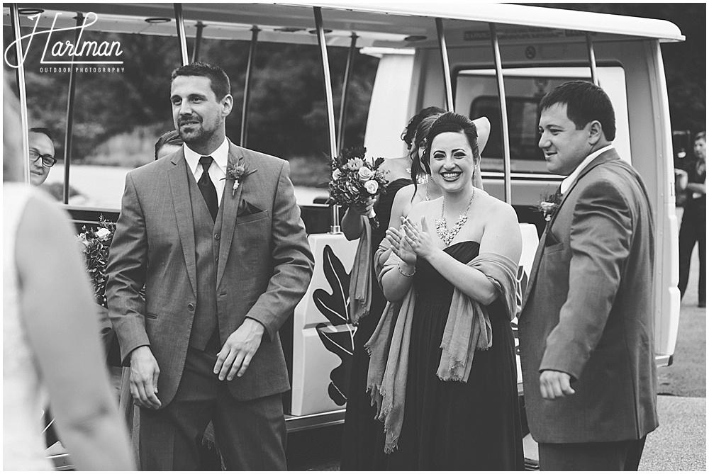 Morton Arboretum Wedding Acorn Express