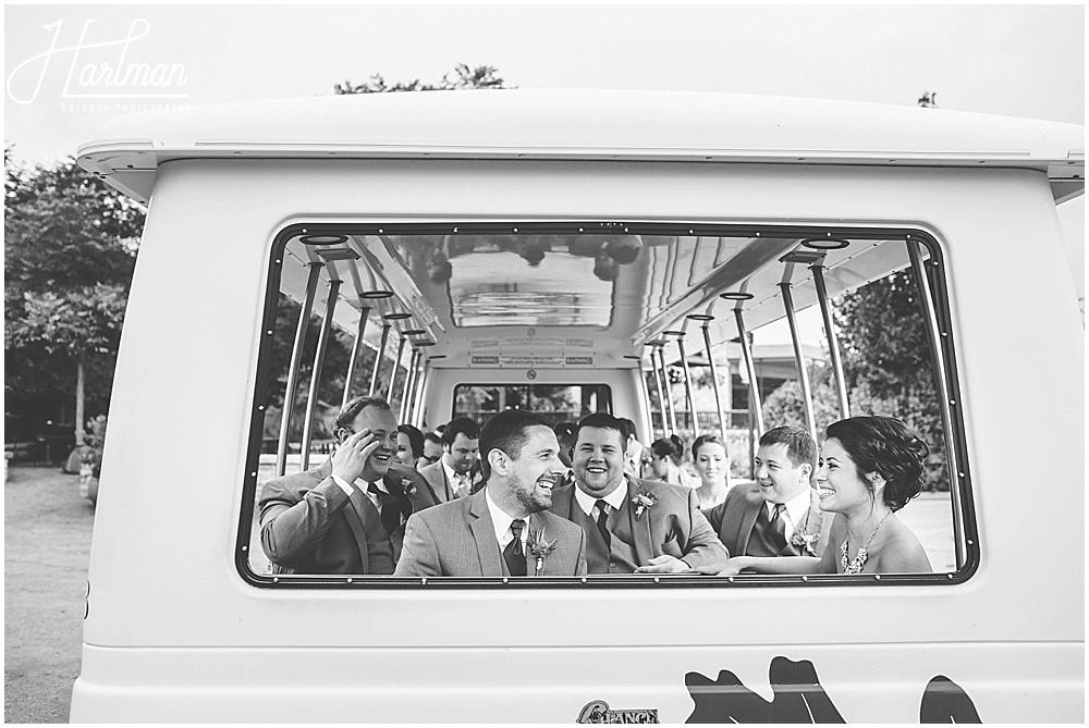 Morton Arboretum Wedding Party on Acorn Express