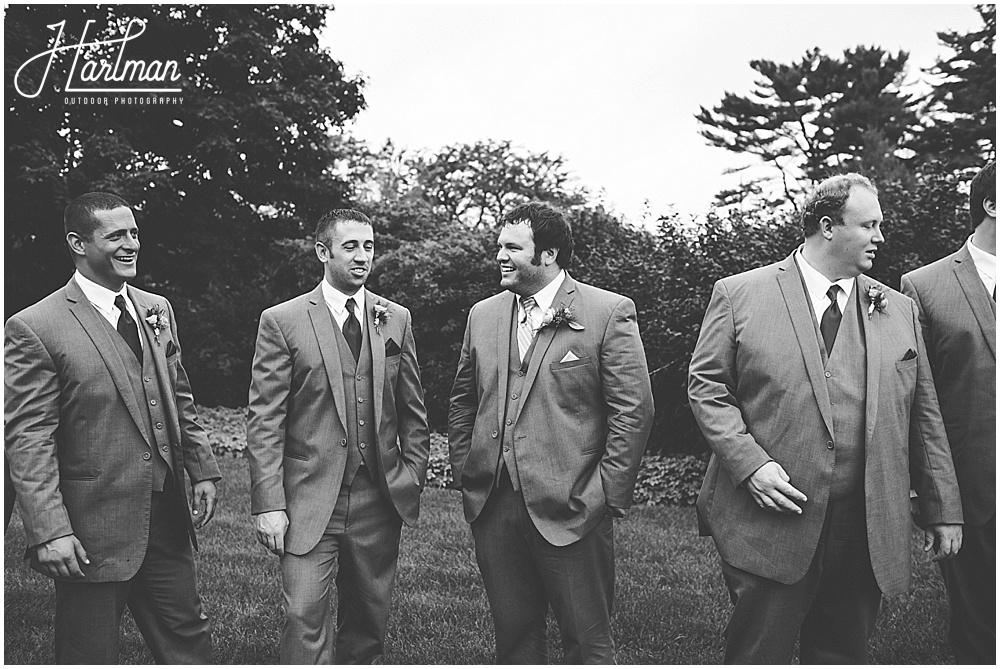 Morton Arboretum groomsmen