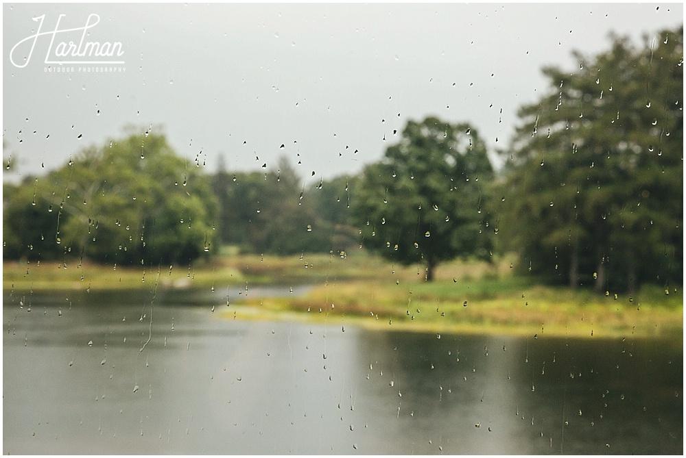 Morton Arboretum autumn fall rainy Wedding 0804