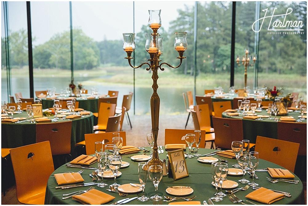 Ginko Room Morton Arboretum Wedding