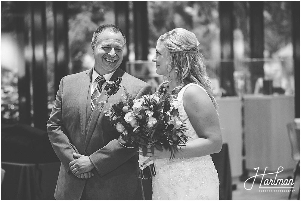 Ginko Room Ceremony Morton Arboretum Wedding
