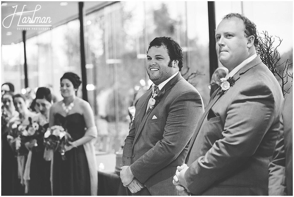 Morton Arboretum Wedding Ginko Room Ceremony