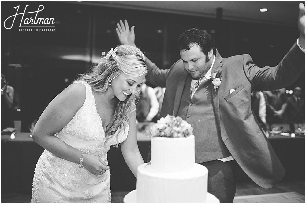 Morton Arboretum Wedding Cake