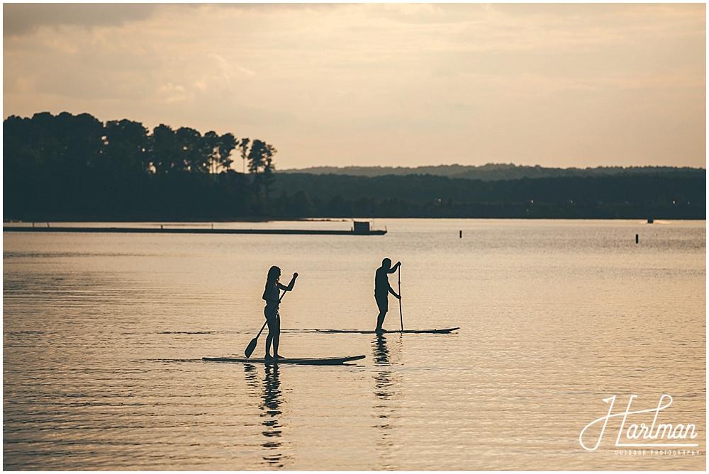 Engagement Session at Jordan Lake