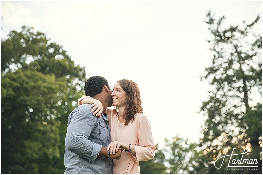 North Carolina Bohemian engagement