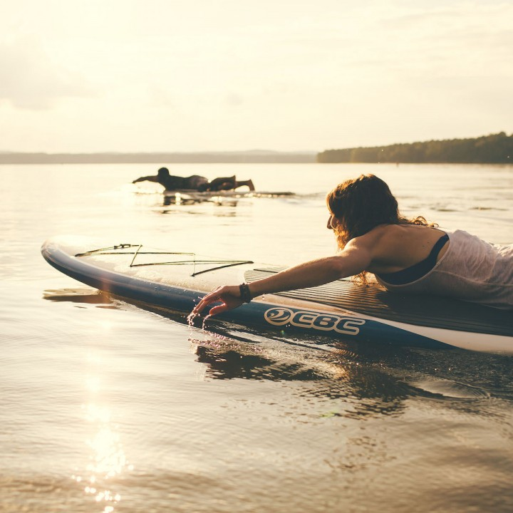 Rachel + Dave | Paddle Board Adventure Session
