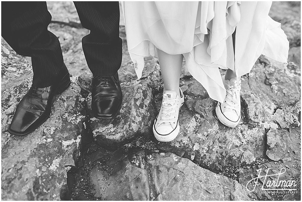 Shenandoah Mountaintop Wedding Ceremony 1075