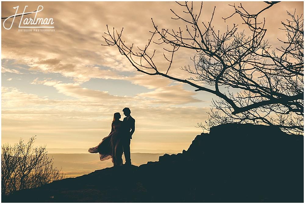 Epic Shenandoah Big Meadows Elopement Anniversary Engagement 1088