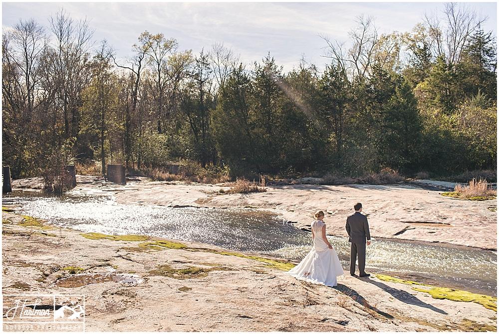 First Look beside a Virginia Creek River