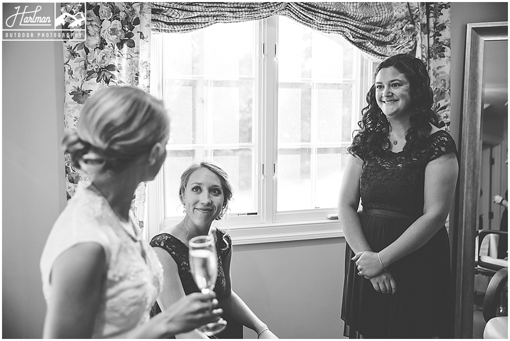 The Mill at Fine Creek Bride and Bridesmaids