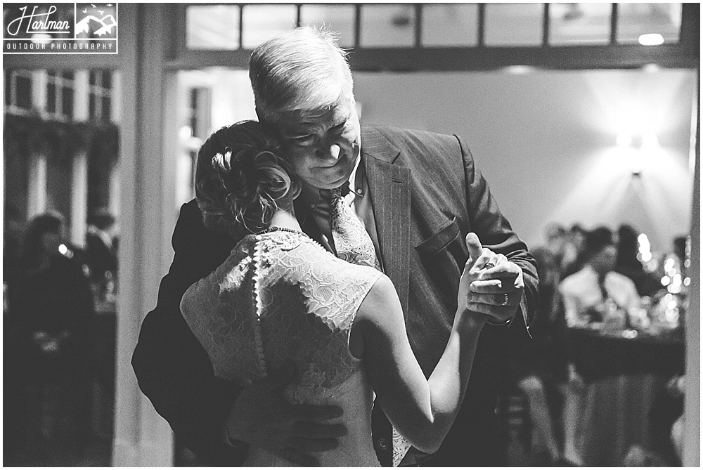 The Mill at Fine Creek Wedding Reception First Dance