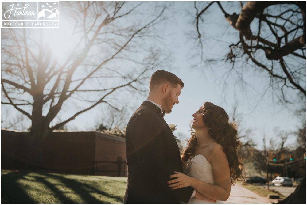 Blue Ridge Mountains Elopement Wedding photographer